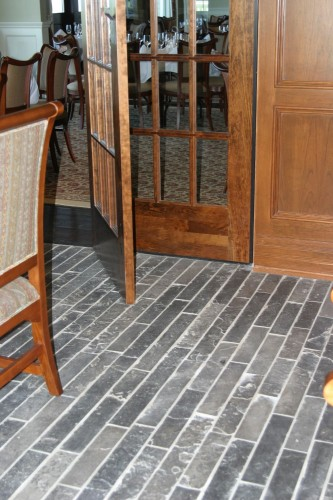 Ebel Natural Stone Thin Veneer Strip Flooring