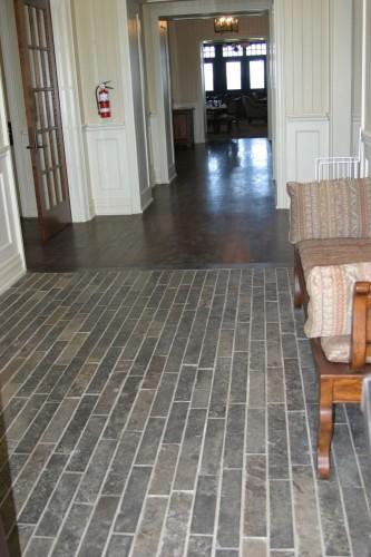 Ebel Natural Stone Thin Veneer Strip Cut  Flooring