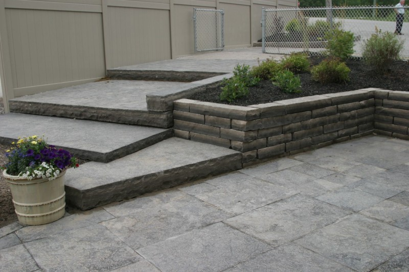 Guillotined Wall Stone